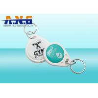 Quality Custom NFC RFID Key Fob 13.56mhz / Epoxy Smart Card For Access System for sale