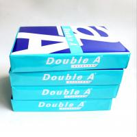 Quality Double A Highest Super White 70 80 GSM Double A A4 Paper Copy Paper for sale