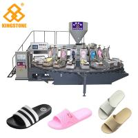 China PVC  flip flop slipper making Machine , Shoe Sole Mould Making Machine With 12/16/20/24/30 Stations on sale