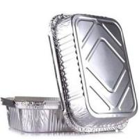 Quality Disposable Food Aluminium Foil Container Good Appearance For Food Package for sale