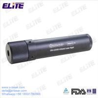 Quality FDA Certified IRS-0200B 4mw Non-waterproof Infrared Laser Sight with Rail Mount for Rifles & Pistols for sale