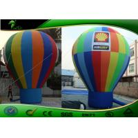 Custom multicoloured Commercial Inflatable Advertising Balloons , Air Balloon For Advertising