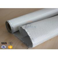 Buy Texalium Honeycomb Weave Silver Coated Fabric E Glass Weatherproof 1200mm at wholesale prices