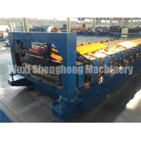 Quality 0.4 - 0.8mm Thickness Wall Panel Roll Forming Machine For Garden , Hotel for sale