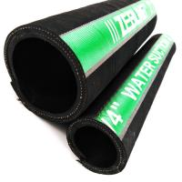 Quality Flexible Rubber Water Suction And Discharge Hose With Anti - Aging Fabric Cover for sale