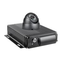 Quality Customized 4CH Mobile DVR 1080P Vehicle Security Video Recorder With G Sensor for sale