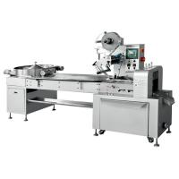 Quality PLC 1000pcs/Min Chocolate Candy Pillow Wrapping Machine for sale