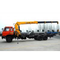 Quality High auality  12T Telescopic Truck Loader Crane , XCMG Hydraulic Truck Crane for sale