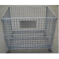 Quality Removable Wire Mesh Container,Foldable Metal Mesh Cage,50x50mm,Galvanized or PVC for sale