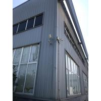 Quality Deep Grey Paint Structural Steel Warehouse To Philippine With H / I Beam for sale