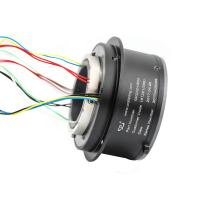 Buy cheap 8 Circuits Slip Ring Solutions High Temperature Resistant Aluminum Alloy from wholesalers