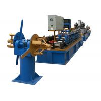 Quality Compact Pipe Making Machinery , Stainless Carbon Galvanized Steel Pipe Rolling Mill for sale