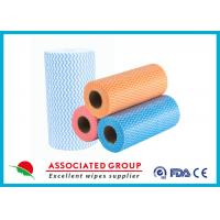 Quality Colorful Printing Spunlace Non Woven Fabric Roll For Household Cleaning for sale