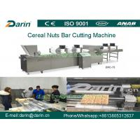 China Cereal Bar Making Machine / Bar Shape Cereals Candy Cutting Machine on sale