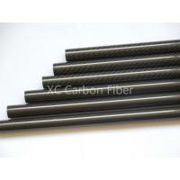 Buy cheap Octocopter cabon fiber pipes custom length 23*25mm carbon tube from Wholesalers
