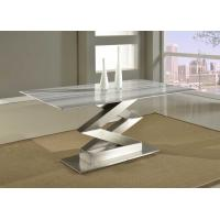 Modern Simple Marble Top Dining Table Commericial Office Furniture