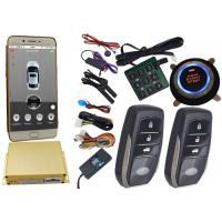 China Reatime Online Smartphone Car Alarm System , Cell Phone Remote Start Gps Vehicle Tracking Systems on sale