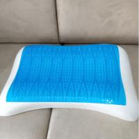 Quality Adult Cooling Gel Memory Foam Pillow Anti Bacterial / Mite Durable Compressive for sale