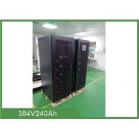 Buy 240Ah 384VDC Lithium Iron Phosphate Battery Backup UPS Energy Storage System at wholesale prices