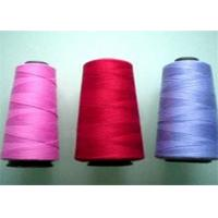 China Dyed Colorful 100% Polyester Sewing Thread Yarn 40/2 , Polyester Thread For Sewing Machine on sale