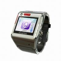 Quality Wristwatch Phone with MTK6253 Platform, Supports GPS Location and SOS Help for sale