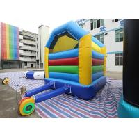Quality Colorful Simple Inflatable Bounce House Kids Play Home Use Bouncy Castle For Fun for sale