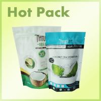 Buy Zip Lock Plastic Stand Up Packaging Bags , Coconut Aluminum Foil Stand Up Pouch at wholesale prices