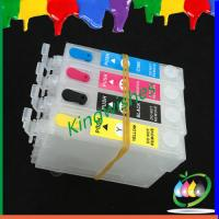 Quality inkjet cartridge for Epson XP-102 XP-202 refillable ink cartridge with chip for sale