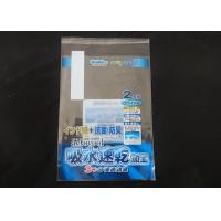 Quality OPP Clear Self Adhesive Plastic Bags / Seal King Resealable Bags for sale