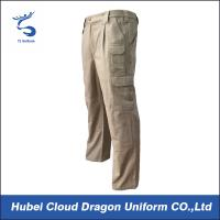 China Formal Uniform Tactical Pants Durable Canvas Mens Security Guard Pants on sale