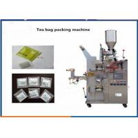China 3 / 4 Sides Seal Automatic Tea Bag Packing Machine With PLC Control System on sale