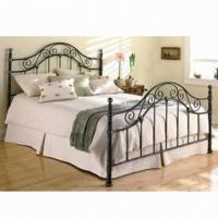 Quality Wrought Iron Bed with 1,400 x 2,000mm, 1,600 x 2,000mm, 1,800 x 2,000mm Sizes for sale