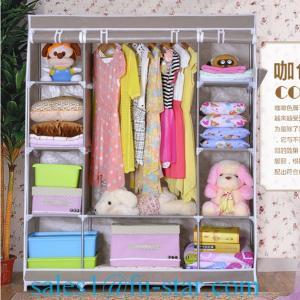 China SW home closet bedroom furniture cloth wardrobe on sale