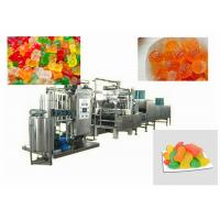 Quality Gummy Bear Pectin Candy Making Machine High Efficiency Customized Voltage for sale