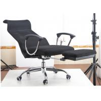Quality Bright Colored Green Napping Office Chair , Reclining Computer Chair With Footrest for sale