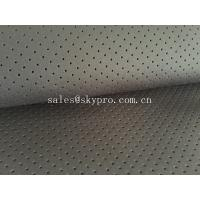Quality Perforated neoprene / airprene fabric roll OF SBR SCR CR Material for sale