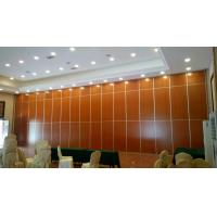 China Aluminium Profile Floor To Ceiling Movable Partition Wall Soundproof Sliding Partition on sale