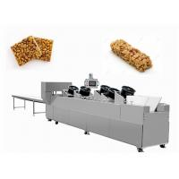 Quality Sesame Nut Crispy Molding Candy Cutting Machine / Puffed Cereal Bar Forming Machine for sale
