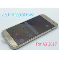 Quality No White Edge Tempered Glass Screen Protector Perfect Adhesion For Samsung A3 / A320 for sale