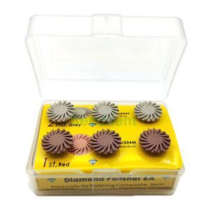 Quality CP 6011 Dental RA Composite Ceramic Zirconia Polishers kit Sr204M + Sr204F/ Dental polishing kit for sale