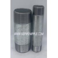 """Quality 1/2x4"""" Astm A53 Galvanized Pipe Nipples For Oil And Water for sale"""