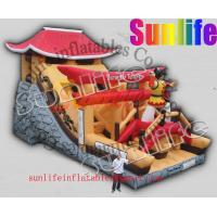 Quality hot sell inflatable jumper slide combo com043 for sale