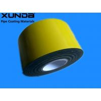 Quality EN 12068 Polyethylene Corrosion Resistant Tape / Yellow Pipe Wrapping Tape for sale