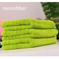 Quality Microfiber Twisted Coral Fleece Multifunction Car Cleaning Cloth 300gsm 30 * 40cm 450gsm for sale