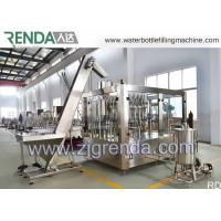 Quality Stainless Steel Gas Beverage Filling Unit , Washing Filling Capping Machine 5.5KW for sale