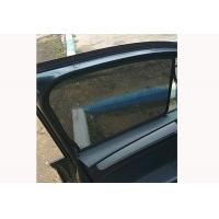 Quality Anti Glare Car Side Window Sun Shade Screens Black Color For Rear / Front Window for sale