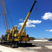Quality Static Pile Drilling Machine For Phc ZYC120 Total Weight 120 Ton for sale