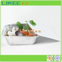Quality Supply Rectangulr Aluminum Foil Containers for sale