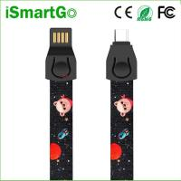 Quality Fashion USB C Data Sync Charge Cable Tape Measure Phone Lanyard for sale
