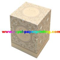 colorful lid and base cosmetic / jewelry paper gift box printing